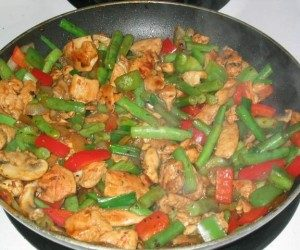 This image it is about Creating great stir-frys without soy sauce